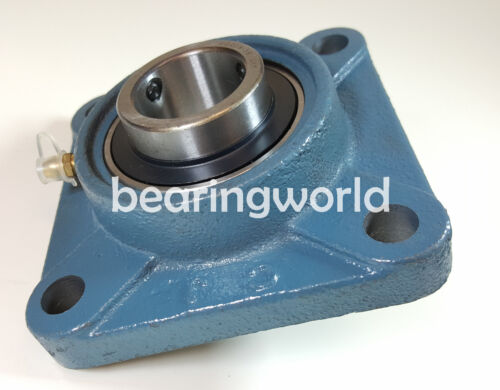 "4 pieces 1-3//4/"" 4-Bolt Flange Bearings UCF209-28 NEW"