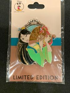 Disney-Employe-Center-DEC-Mulan-Princess-Pals-LE-200-Pin