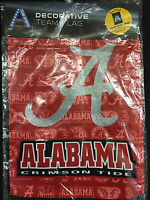 University Of Alabama Two Sided Suede Glitter Garden Flag