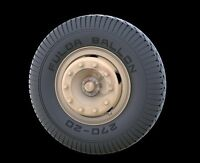 Panzer Art 1/35 Road Wheels For Mercedes Db L4500 (early Pattern) Re35-244
