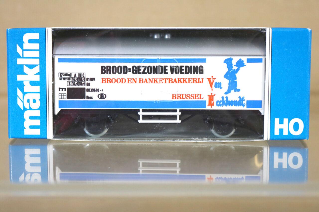 Märklin Märklin 4415 K8039 Sncb Brood Gezonde Voeding Brussel Kühlwagen Nc