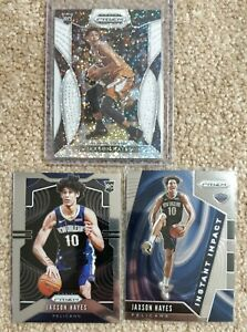 Jaxson-Hayes-2019-20-Panini-Prizm-Rookie-Lot-Draft-Picks-White-Sparkle-Base-II