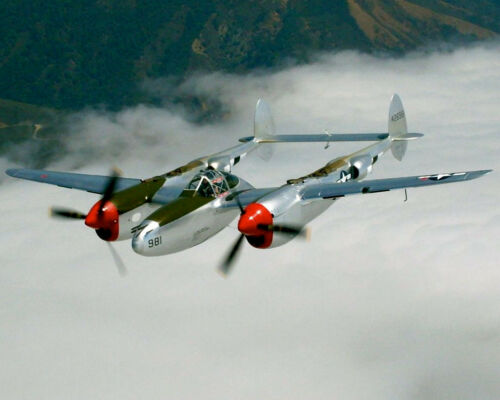 "UC Model Airplane Plans .15 Engines : P-38 LIGHTNING 1//16 Scale 39/"" for 2.5cc"