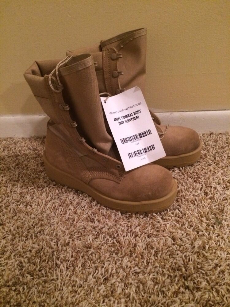 (New) Army Combat Boots 5.5R