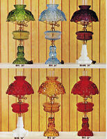 L. G. Wright Glass Lamps: Original Catalog Pages