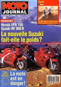 MOTO-JOURNAL-1117-Essai-Road-Test-BMW-K75-Limited-HONDA-VFR-750-SUZUKI-RF-900-R