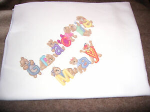 Personalised-Baby-Towel-Christening-New-Born-Any-Text-Photo-GIFT-WRAP-FREE-P-P