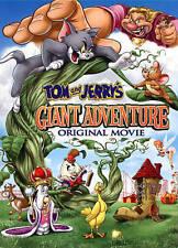 Tom & Jerr'Y Giant Adventure - 3 DISC SET (2014, DVD New)