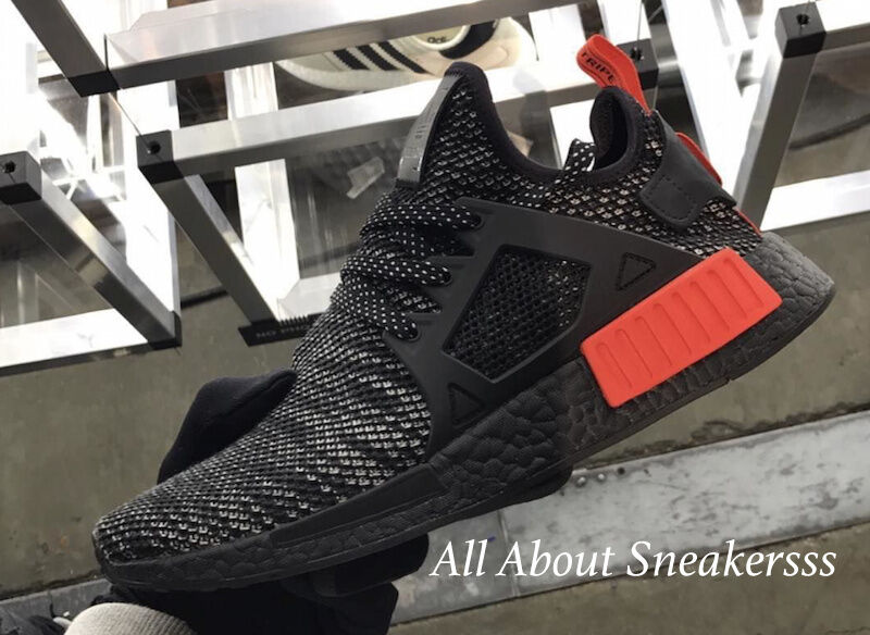 e37f19c63 Adidas NMD XR1 Bred Primknit BLACK WHITE RED S76849 Limited Stock ...