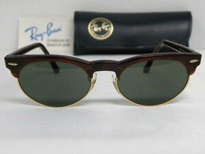 f04463b6f7 New Vintage B L Ray Ban Oval Max Tortoise W1267 Wayfarer Clubmaster ...