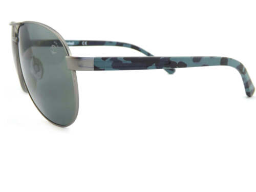 e7d280b20d 1 of 4FREE Shipping TIMBERLAND polarized Sunglasses Gunmetal   Blue Camo  Arms TB9086 09D