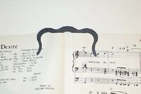 Music Book Clip Or Page Holder, New, Free Shipping