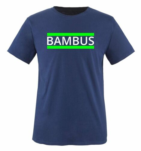 Bambù-T-shirt da uomo