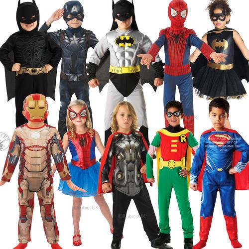 DC Super Hero Costumes
