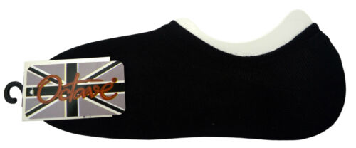 OCTAVE® Womens Plain Invisible Trainer Liner Socks Various Pack Sizes Available