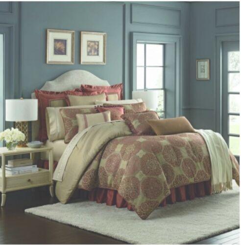 waterford fine linens jonet king comforter spice