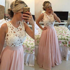Sexy Women's Long Evening Ball Prom Gown Formal Bridesmaid Cocktail Party Dress