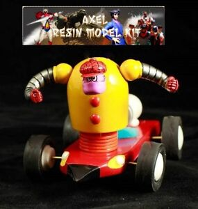 Kit de résine pour modèle anime Jeeg Kōtetsu Jīgu Jeeg Robot en acier Mechadon 1