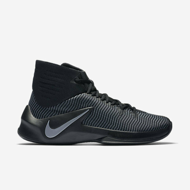 NIKE MENS ZOOM CLEAR OUT BASKETBALL SHOES [844370 001]
