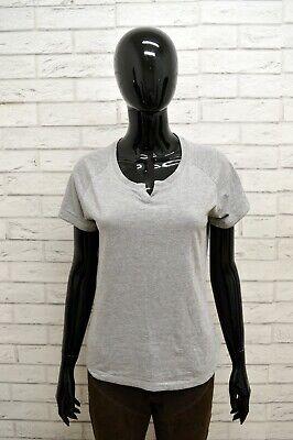 Entusiasta Maglia Ellesse Donna Taglia Size M Maglietta Camicia Shirt Woman Cotone Grigio