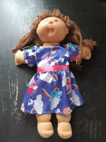 Homemade Cabbage Patch My Little Pony  Dress