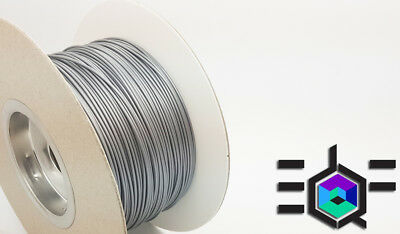 3DQF Midnight Silver UK Made 3D Printer Filament PLA 1.75mm All 3D Printers