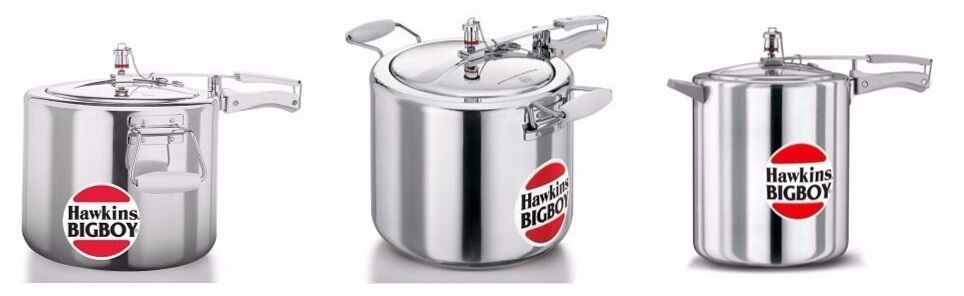 Hawkins  Pressure Cookers  Bigboy  Indian Cooker  Choose From 3