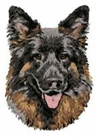 German Shepherd Dog, Embroidered, Patches 3.3 Tall Or Embroidered Hat