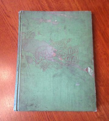 Vintage Antique L AGENDA Bucknell Yearbook- 1899