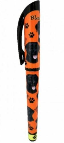 LABRADOR RETRIEVER BLACK GEL PEN REFILLABLE BLACK GEL INK DOG GIFT