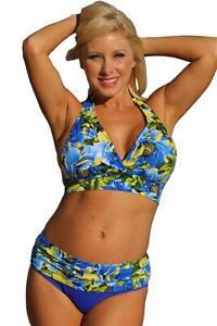 1388d1ac7ea Details about UjENA - Royal Islands Minimizer Bikini - Top: 2X & Bottom: 1X