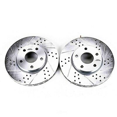 Disc Brake Rotor Set Front Power Stop AR8250XPR