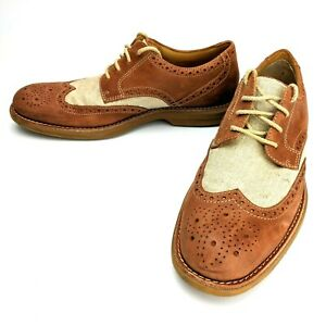 Sperry-Top-Sider-Men-039-s-Gold-Cup-Bellingham-Wingtip-Oxford-Tan-Ivory-Size-8-5M