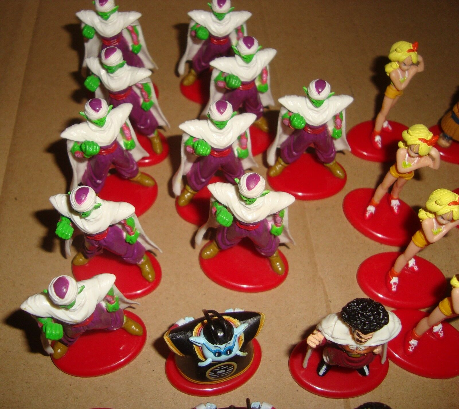 DRAGON BALL LOTTO 39 MINI FIGURE PICCOLO FREEZA FREEZA FREEZA BULMA VEGETA CRYLIN MR.SATAN ac6a35