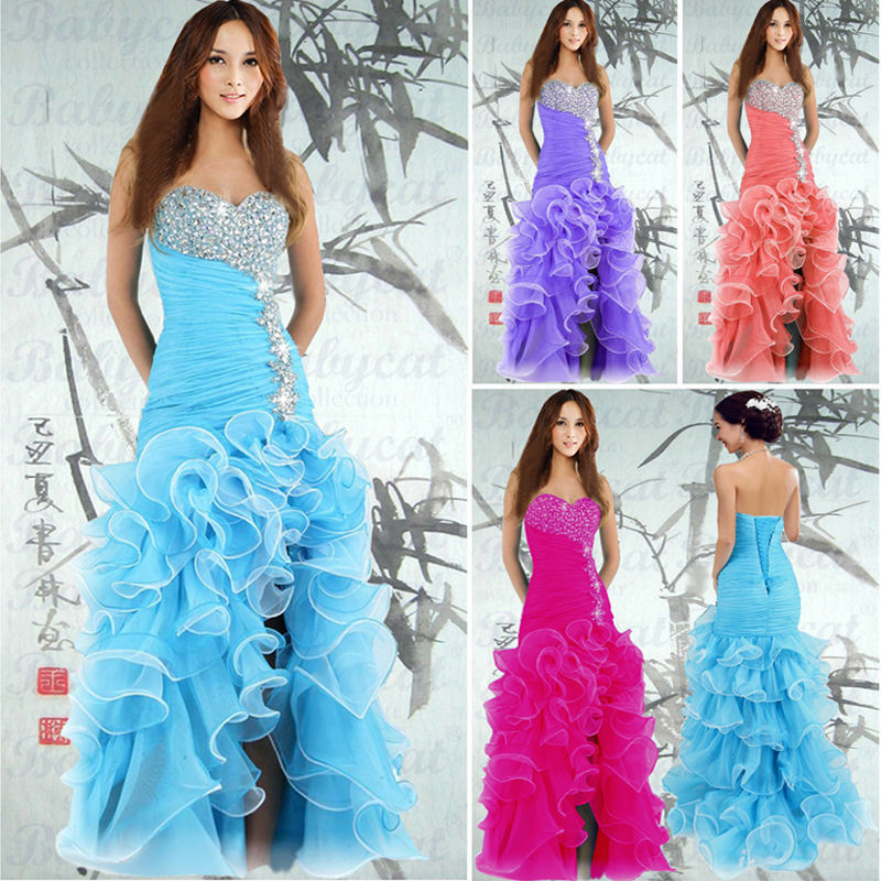 Abendkleid Ballkleid Kleid Partykleid Lachs SOFORT Lieferbar NEU A1055LA 34