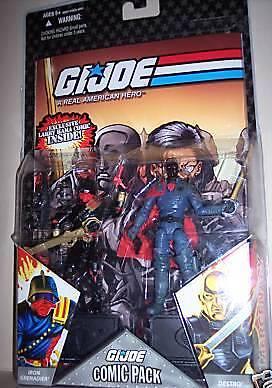 Iron Grenadier and Destro VARIANT! G.I.Joe Comic Pack