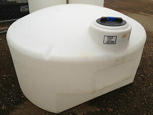 Details about 425 Gallon Poly Plastic Water Pickup Truck Tank, water  hauling,