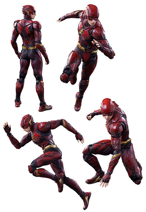 Justice League Movie 10 Inch Acton Figure Play Arts Kai - The Flash