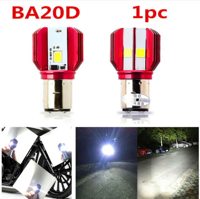 Motorcycle 6000K LED Hi/Lo Beam Headlight Front Light Bulb Lamp for Motocycle