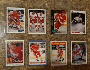 8-Sergei-Fedorov-1990-91-OPC-Premier-Upper-Score-Rookie-Card-lot-RC-HOF-Y-Guns