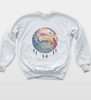 Dreamcatcher Ocean Sweatshirt Hipster Vintage Indie Retro Jumper Unisex Top