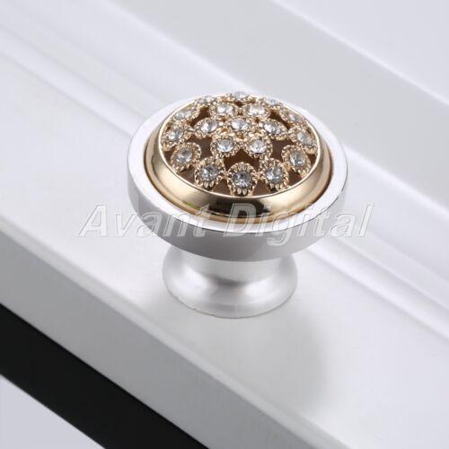 Zinc Alloy Door Handle Cabinet Drawer Knob Wardrobe Cupboard Furniture Hardware