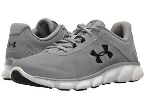 Under-Armour-Men-039-s-Micro-G-Assert-7-Running-Shoes-Steel-White-US-Sizes