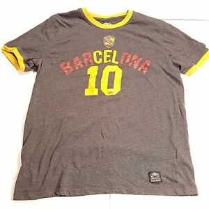Image is loading Umbro-Barcelona-Mens-Shirt-Futbol-Soccer-Messi-10- 6cb238430