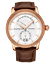 miniature 1 - Stuhrling Men's Rose Swiss Quartz Watch Decorative Guilloche Pattern Silver Dial