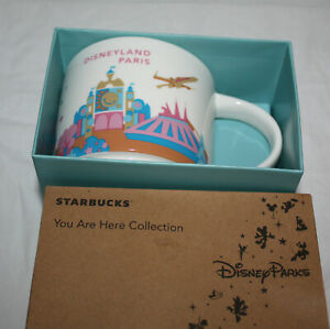 Starbucks-Disneyland-Paris-Mug-YAH-You-Are-Here-Disney-Mint-New