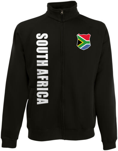 Südafrika SOUTH AFRICA wM 2018 Sweat Jacke Trikot Name Nummer