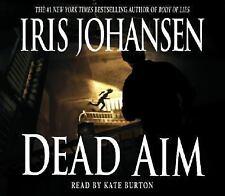 DEAD AIM - AUDIO BOOK- IRIS JOHANSEN - read by KATE BURTON