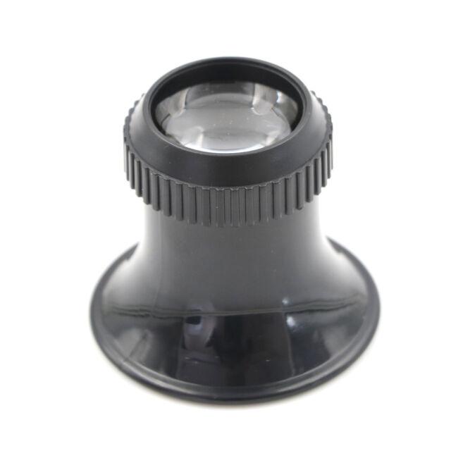 15X Monocular Magnifying Glass Loupe Lens Eye Magnifier Jeweler Tool HK