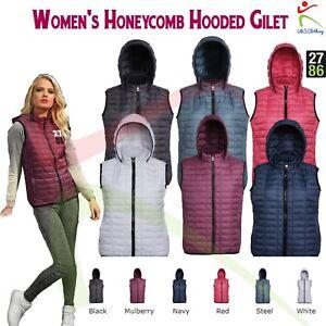 à gilet en coupe rembourrés slim dames 2786 décontracté capuche en polyester polyester dames chauds Ofz5Pqw5